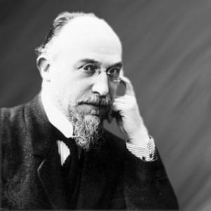 Erik Satie: Only food that is white, please.