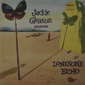 Gleason's orchestral albums are surrealistic delights: This cover is by Salvador Dali.