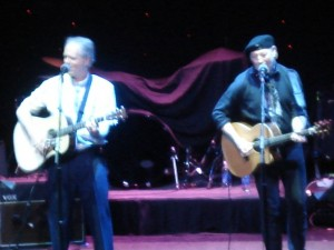 """The comedy and guitar duo of Loudon Wainwright III and Richard Thompson,  """"Loud and Rich."""""""