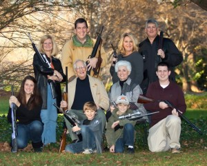 If there's a War on Christmas, this North Carolina clan is ready.