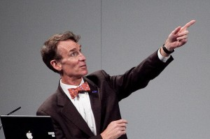 Bill Nye. Or maybe the guy on my bus, I'm not sure.