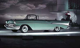 Now this is a car: 1957 Chevy Bel Air.
