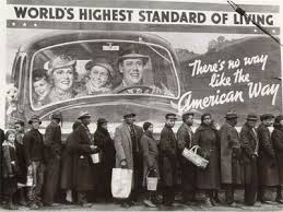 The Great Depression: Irony is pretty funny, unless you're hungry and have no job.