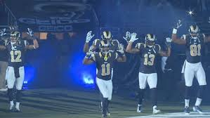 "The St. Louis Rams protest: ""Hands up. Don't shoot."""