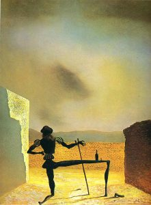 Salvador Dali's The Ghost of Vermeer.